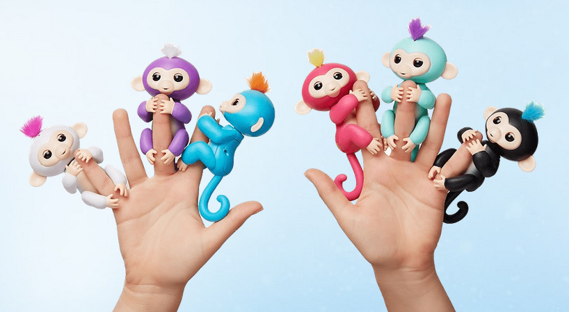 Описание Fingerlings Monkey