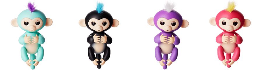 Разновидности Fingerlings Monkey
