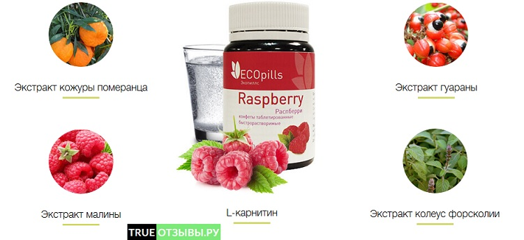 Eco Pills Raspberry состав